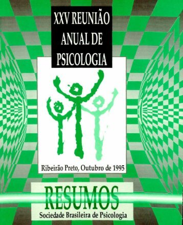 1995 - Sociedade Brasileira de Psicologia
