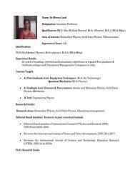 Name: Dr Meena Laad Designation: Associate Professor ... - SIT