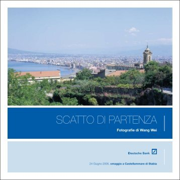 "Catalogo ""Scatto di Partenza"" - Francesco Cascino"