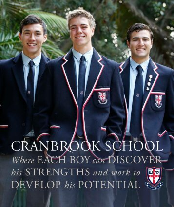 Download Prospectus - Cranbrook School