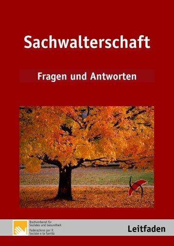 Sachwalterschaft - Fragen & Antworten - Dachverband für Soziales ...