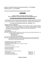 Pubblicato sul Bollettino Ufficiale della regione Emilia Romagna n ...