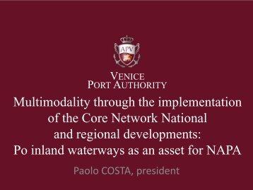 President Costa's speech - Porto di Venezia