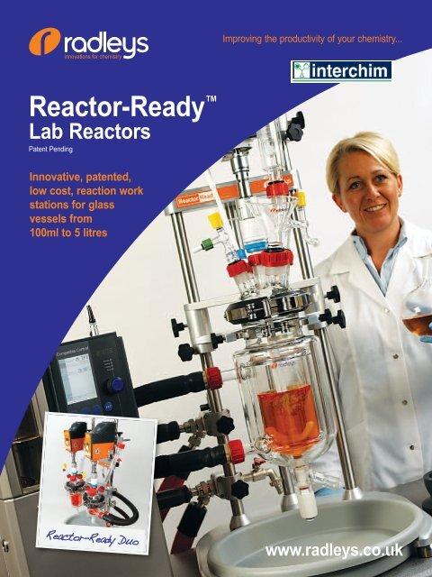 Reactor-Ready™ Lab Reactors - Interchim