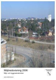 Miljöredovisning 2006 - Sollentuna kommun