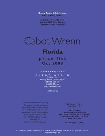 general info - Cabot Wrenn