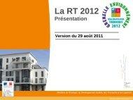 Présentation RT2012 Sens - 6,04 Mb - Les services de l'État dans l ...