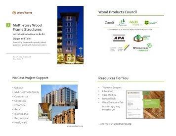 Modular Wood Framing Goes Vertical Woodworks