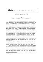 Murder at Mill Ditch, 1923 - Gilbertgia.com