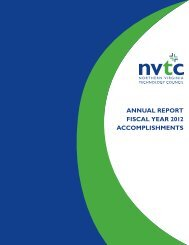 annual report fiscal year 2012 accomplishments - Northern Virginia ...