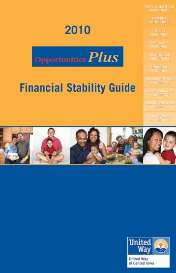 Financial Stability Guide 2010 - United Way of Central Iowa