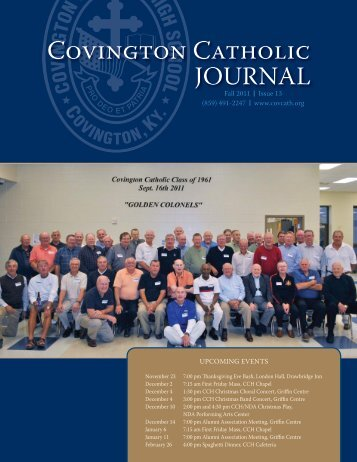 Fall 2011 Issue - Covington Catholic High School