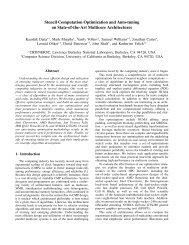 Stencil Computation Optimization and Auto-tuning on State-of-the ...