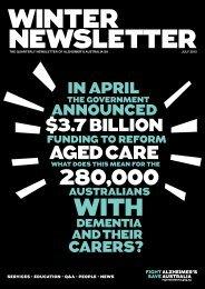 Newsletter July 2012 - Alzheimer's Australia