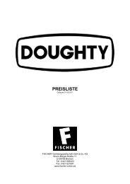 DOUGHTY Preisliste 2011