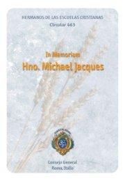 In Memoriam H. Michael Jacques - Hermanos de las Escuelas ...