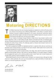 Motoring DIRECTIONS - Australian Automobile Association