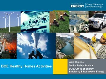 Julie Hughes - DOE Healthy Homes Activities - AIHA-RMS