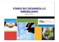 fondo bci desarrollo inmobiliario