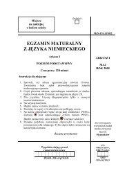 Matura 2005 - j. niemiecki - Interklasa