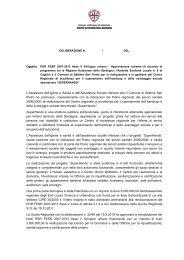 L'Assessore dell'Igiene e Sanità e dell'Assistenza ... - Sardegna Salute
