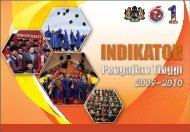 Indikator Pengajian Tinggi 2009 - 2010 - Kementerian Pengajian ...