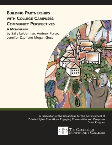 BUILDING PARTNERSHIPS WITH COLLEGE CAMPUSES ...