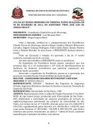 1 ata da 02ª sessão ordinária do tribunal pleno, realizada em 09 de ...