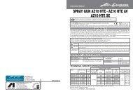 SPRAY GUN AZ10 HTE - AZ10 HTE AV AZ10 HTE SE - Anest Iwata