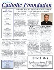 Central Washington Catholic Foundation