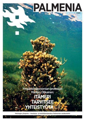 Palmenia-lehti 1/2011 - Kurki-hanke