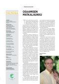 Palmenia-lehti 1/2011 - Kurki-hanke - Page 3