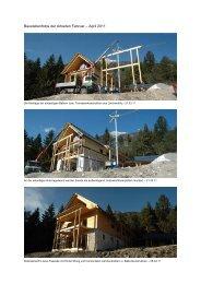 Baustel lenfotos de r Arbeiten F Februar – A April 2011 - Haus der ...