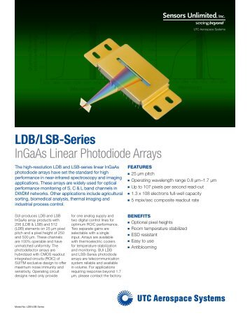 Product Overview (PDF) - Sensors Unlimited