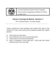 Esercizio 4 - DipCIA - Università degli studi di Cagliari.