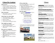 Citizens Fire Academy Informational Flyer - St. Lucie County Fire ...