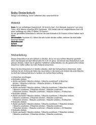 Strickanleitung für das Dreieckstuch herunterladen (pdf) - Schweizer ...