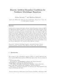 Discrete Artificial Boundary Conditions for Nonlinear Schrödinger ...