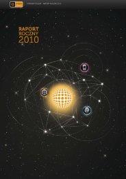 raport roczny 2010 - Cyfrowy Polsat
