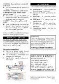 TRAMPER TEil 1 - PART 1 EiGNER-HANDBUCH ... - Grabner Sports - Page 7