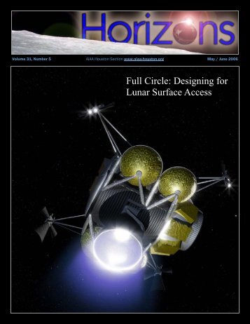 "AIAA Houston ""Horizons"" Online Magazine"
