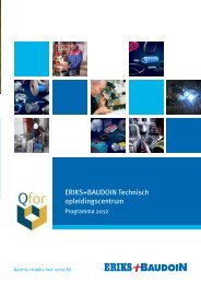 ERIKS+BAUDOIN Technisch opleidingscentrum