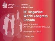 SC Magazine World Congress Canada