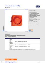 Audible Signalling Devices Industrial Audible Signal - 116 dB - Auser