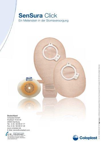 Broschüre SenSura Click - Coloplast