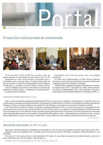 portal 76 - Instituto Politécnico de Portalegre