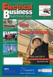 NovDec 2006.pdf - Electrical Business Magazine