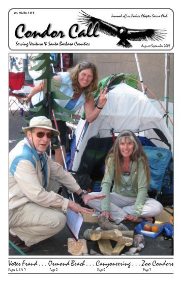 Aug/Sept - Los Padres Chapter - Sierra Club