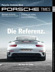 Download in deutsch - Porsche Zentrum Bern