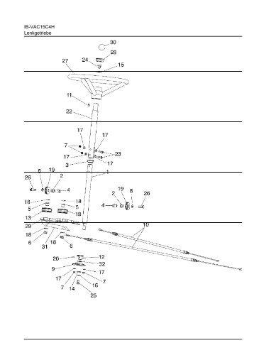 IB-VAC15C4H Lenkgetriebe - ratioparts